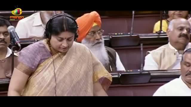 Smriti Irani Speaks About Education System In India | Rajya Sabha | Mango News