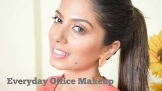 Everyday office makeup for Indian, Brown, Olive skin