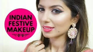 INDIAN FESTIVE Makeup / Wedding Guest Makeup