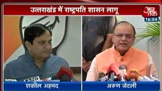 Uttarakhand Crisis: President's Rule Imposed, Congress-BJP War Continues
