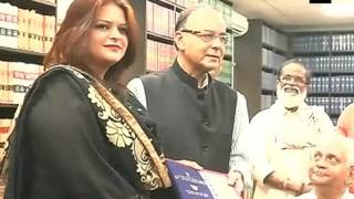 List of 63rd National Film awardees hand over to Arun Jaitley