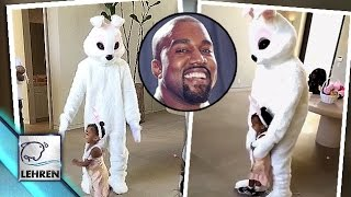 Kanye West Turns CUTE Bunny For North West