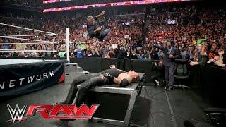 Shane McMahon attacks The Undertaker before WrestleMania