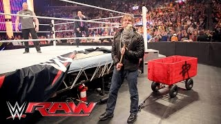 Brock Lesnar, Dean Ambrose and Wyatt Family all go to war