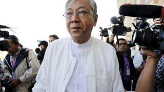 Myanmar swears in first elected civilian president: Htin Kyaw