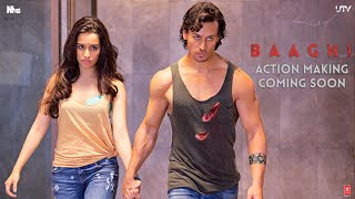 Making of Baaghi Teaser - Tiger Shroff & Shraddha Kapoor - Releasing April 29