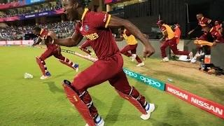 World cup T20 2016 india vs west indies match 2016 - Wins west indies Happy Moment