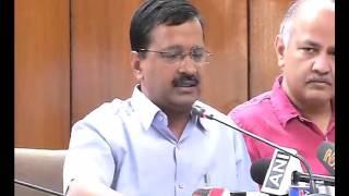 Post Budget Press Conference by Delhi CM Arvind Kejriwal