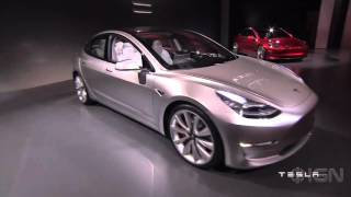Tesla Model 3 Montage