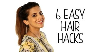 6 Easy Hair Hacks - Ultimate Hair Life Hacks