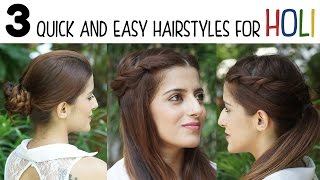 Watch Back To School Heatless Hairstyles 5 Cute And Easy Video