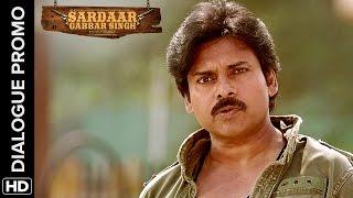 Pawan Kalyan is a real fighter - Sardaar Gabbar Singh - Hindi Dialogue Promos