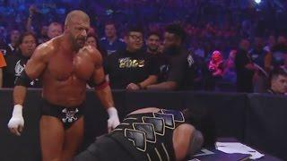 Roman Reigns vs Triple H - WWE World Heavyweight Title Match : WrestleMania 32