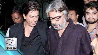 Shahrukh Khan And Sanjay Leela Bhansali COLD WAR Ends