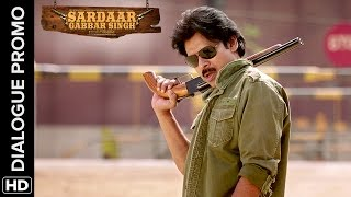 Pawan Kalyan can take on the most powerful villain - Sardaar Gabbar Singh - Hindi Dialogue Promos