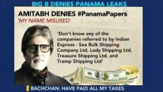 Megastar Amitabh Bachchan Denied Panama Paper Leaks
