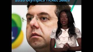 Only Half of Tickets to 2016 Olympics in Rio Have Been Sold