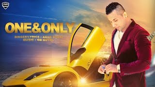 One & Only - Arsh Sodhi Ft. GB Royal - Punjabi Hits - Latest Punjabi Songs