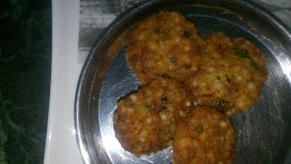 How to make Sabudana Pakodi / Tikki - vrat food recipy - food for fasting