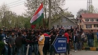 Unrest In NIT - HRD Ministry Sends Team At Srinagar Campus: NIT Srinagar Unrest