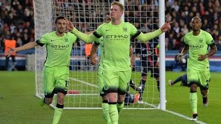 Manchester City F.C Hold Paris Saint-Germain to 2-2 Draw in Champions League