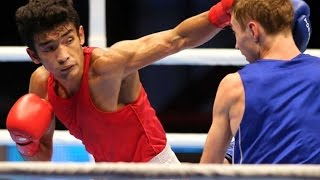 Shiva Thapa Bags Silver at Olympic Boxing Qualifiers