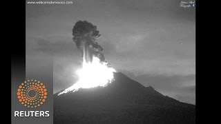 Potential for lava eruption at Mexican volcano