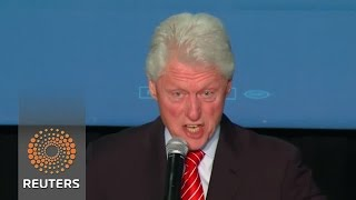 Bill Clinton confronts Black Lives Matter protesters