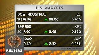 Energy shares lift stocks