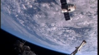 Raw: SpaceX Delivers Inflatable Room to ISS