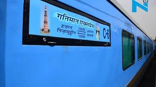 Two days in operation Gatimaan Express bears a loss of Rs 16 lakhs