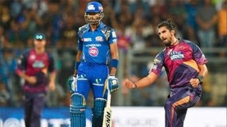 IPL 2016 - Mumbai Indians vs Rising Pune Supergiants - Mumbai Indians Score 121 Runs