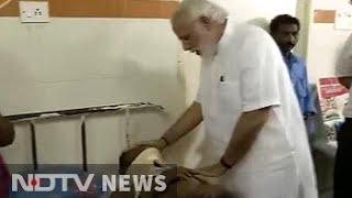 PM Modi visits injured in Kerala's Kollam, where temple fire left 106 dead: Kollam Temple