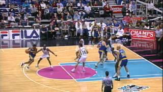 NBA Vault: Golden State Warriors vs San Antonio Spurs 2/14/1997
