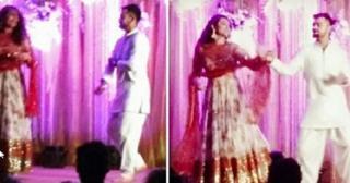 Virat Kohli Dancing with Sonakshi Sinha at Rohit Sharma's sangeet party