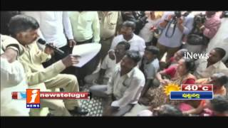 Chandrababu Condmens Nakkapalli Victims Families - iNews