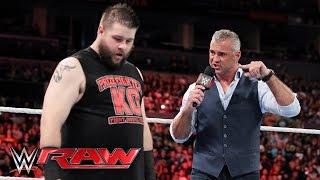 Kevin Owens interrupts Shane McMahon: Raw, April 11, 2016