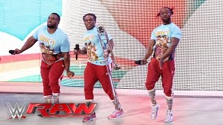 The New Day kicks off the No. 1 Contenders' Tag Team Tournament: Raw, April 11, 2016