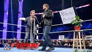 "Jericho's ""The Highlight Reel"" gets cancelled & replaced by ""The Ambrose Asylum"": Raw, Apr. 11, 2016"