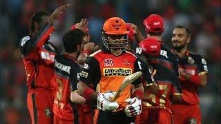 IPL 2016 - Royal Challengers Bangalore vs Sunrisers Hyderabad - RCB Beat SRH By 45 Runs