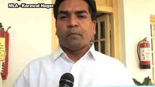 AAP MLA And Minister Kapil Mishra Velfie on Budget