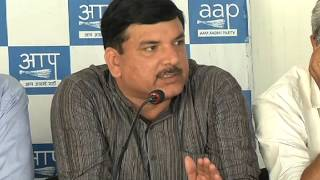 AAP leader Sanjay Singh Byte on NIA officer Mohammed Tanzil Ahmed