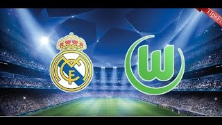 REAL MADRID vs WOLFSBURG - Champions League 2016