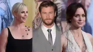 Charlize Theron Sizzles at The Huntsmen: Winter's War Premiere in Los Angeles