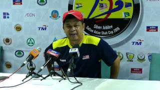 Malaysia press conference post match with Canada 2-2. Sultan Azlan Shah cup hockey, 2016