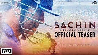 Sachin A Billion Dreams - Official Teaser - Sachin Tendulkar