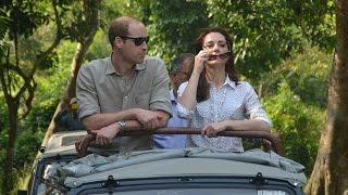 William & Kate Middleton's India Jungle Safari Tour Update
