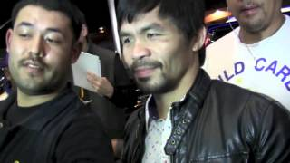 We Asked Manny Pacquiao if He Will Fight Again