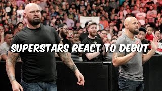 BulletClub hits WWE? Superstars react to Gallows and Anderson's debut: April 13, 2016