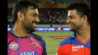 Raina's Gujrat Lions Crushes CSK Captain Dhoni's Rising Pune supergiant  in IPL 2016  Match 6